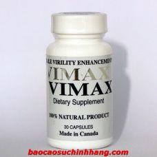 Vimax - Tăng Cường Sinh Lý Nguồn Gốc Thảo Dược Số 01 Thế Giới Dành Cho Nam  ( Made in Canada )