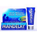 Gel Bôi Mandelay:  Giúp nam giới chấm dứt nỗi lo âu bị xuất tinh sớm khi lâm trận  ( Made in USA )